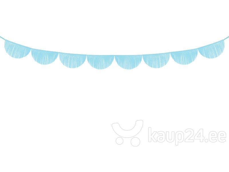 Гирлянда Fringe Sky-Blue 32 см x 3 м