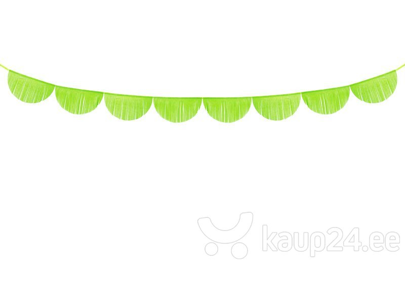 Гирлянда Fringe Green Apple 32 см x 3 м