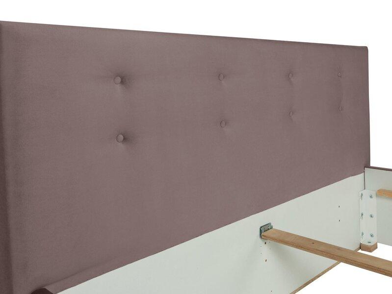 Voodi BRW Molisa, 160x200 cm, lilla