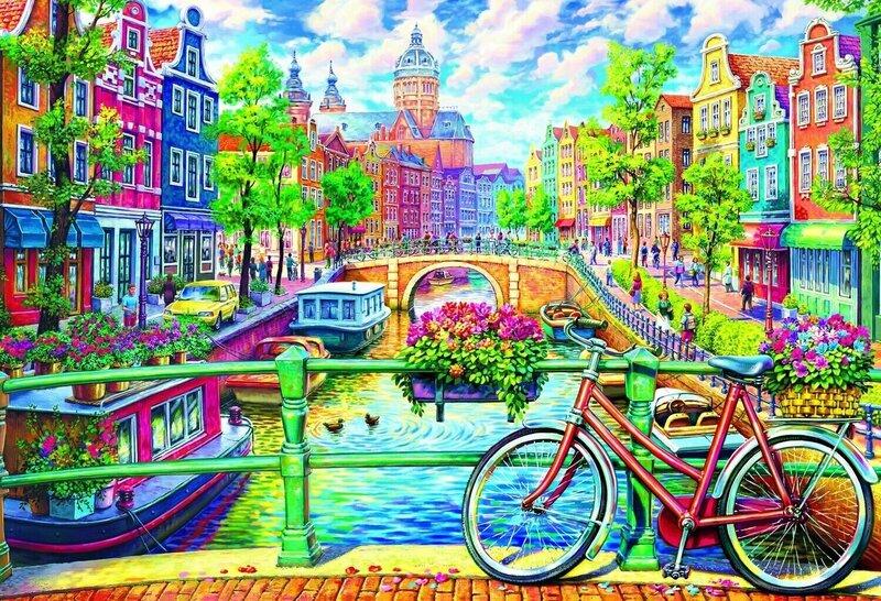 Pusle Trefl Amsterdam, 1500-osaline hind