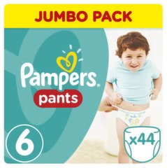 Mähkmed PAMPERS Pants 6, 44tk