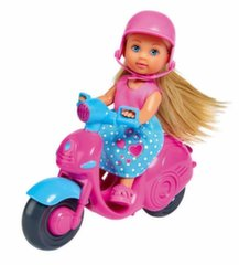 Кукла со скутером Simba Evi Love