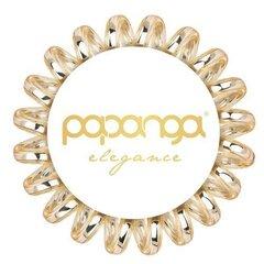 Маленькая резинка для волос Papanga Elegance Golden 1шт