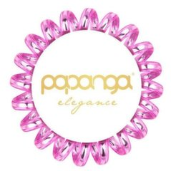 Маленькая резинка для волос Papanga Elegance Pink 1шт