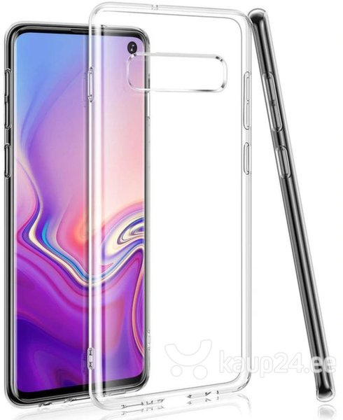 Swissten Clear Jelly Back Case 0.5 mm Silicone Case for Samsung G970 Galaxy S10e Transparent