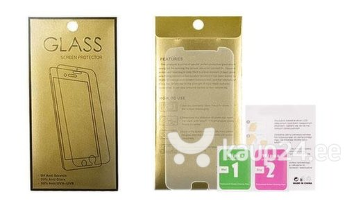 Tempered Glass Gold Screen Protector Apple iPhone 7 Plus / 8 Plus (Front+Back)