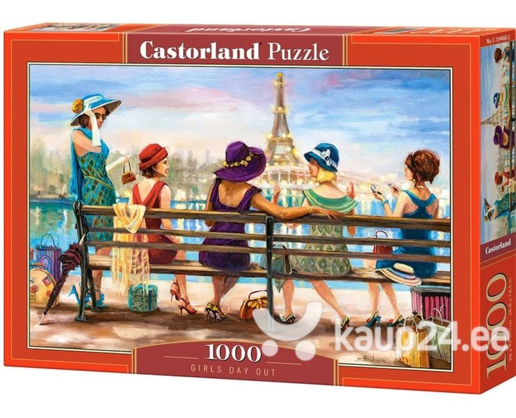 Pusle Puzzle Castorland Girls Day Out, 1000-osaline