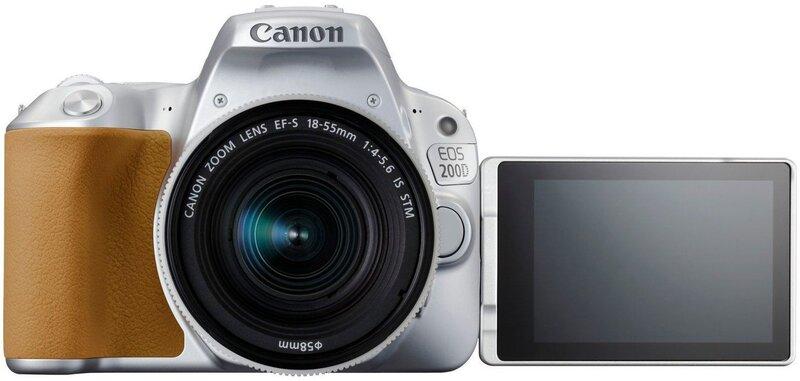 Kaamera Canon EOS 200D + 18-55mm IS STM, Hõbedane