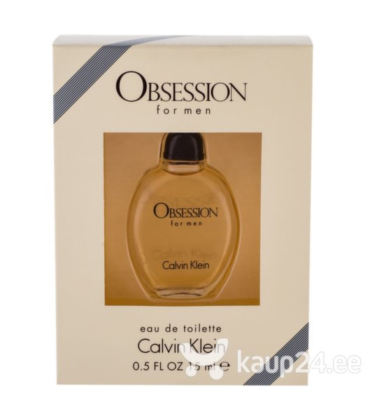 Tualettvesi Calvin Klein Obsession for Men EDT meestele 15 ml