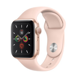 Apple Watch S5, 40 mm, Kuldne/roosa hind ja info | Nutikellad (smartwatch) | kaup24.ee