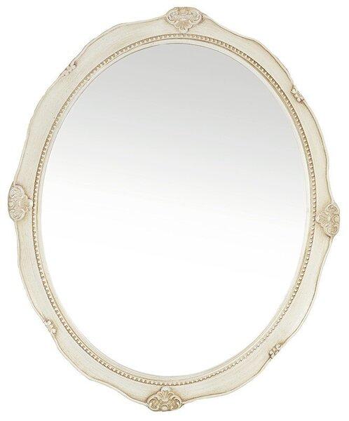 Peegel, 46x57 cm, valge