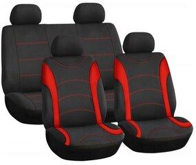 Istmekatted must-punane