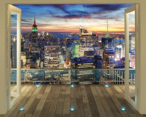 Fototapeet New York City Skyline