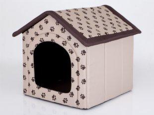 Maja-pesa Hobbydog R2 käpad, 44x38x45 cm, beež