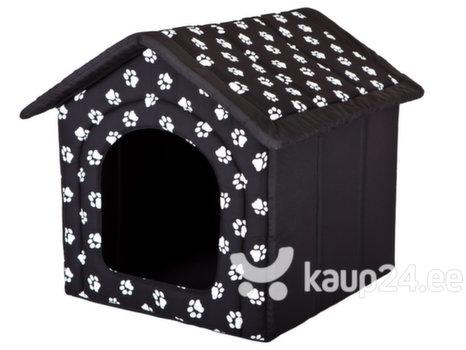 Maja-pesa Hobbydog R5 käpad, 70x60x63 cm, must