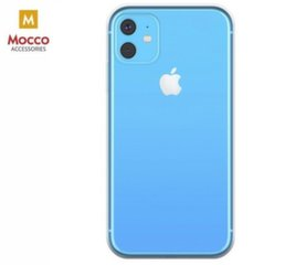 Telefoniümbris Mocco Ultra Back Case 0.3 mm Silicone Case Apple iPhone 11 Transparent hind ja info | Telefoniümbris Mocco Ultra Back Case 0.3 mm Silicone Case Apple iPhone 11 Transparent | kaup24.ee
