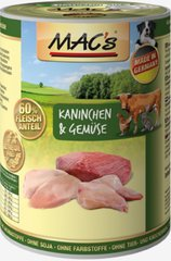 Koerakonserv Mac's Rabit & Vegetables 800 g