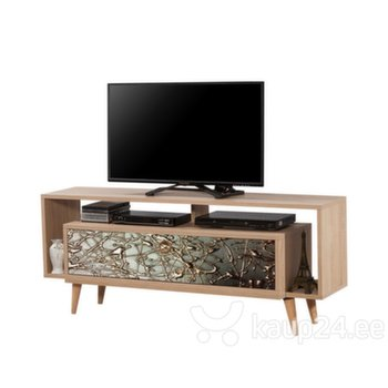 TV-laud Selsey Smartser 130 cm, tamme värv