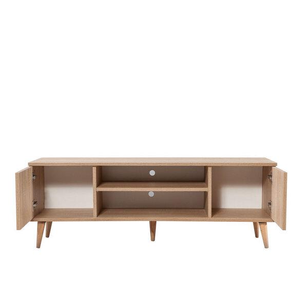 TV-laud Selsey Smartser 140 cm, pruun/mitmevärviline Internetist
