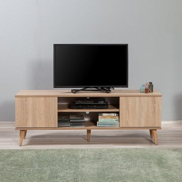 TV-laud Selsey Smartser 140 cm, tamm