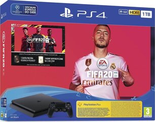 Mängukonsool Sony Playstation 4 (PS4) Slim 1TB + FIFA 20