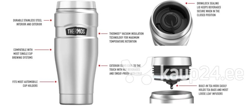 Termostass Thermos Hall 470 ml THSK1005MBTRI4 hind