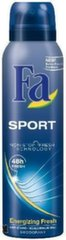 Spreideodorant meestele Fa Men Sport Sporty Fresh 150 ml