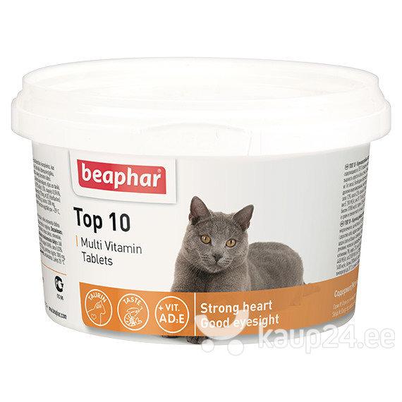 Beaphar Top 10 vitamiinid kassidele, 180 tabl.