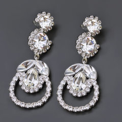 "Earrings ""J'Adore III"" with Crystals From Swarovski™"