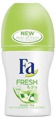 Rulldeodorant antiperspirant Fa Fresh & Dry Green Tea 50 ml