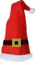 Шапка Санта Клауса 30х70 см
