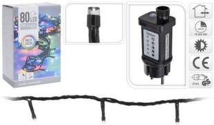 Jõulutulede valguskett, 80 LED hind ja info | Jõuluvalgustid | kaup24.ee