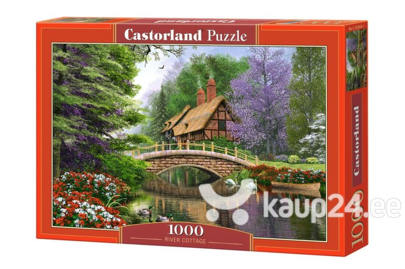 Pusle Puzzle Castorland River Cottage, 1000 tk