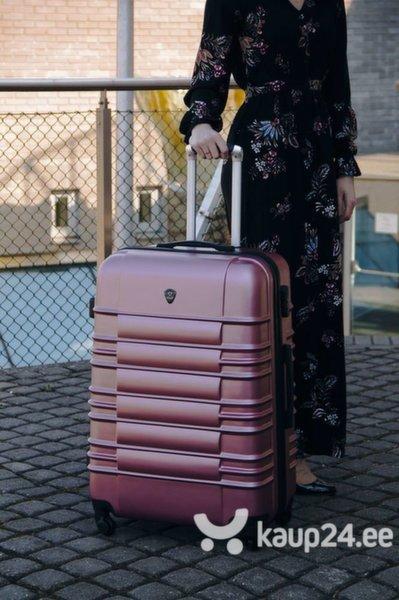 Väike kohver Solier STL838, roosa