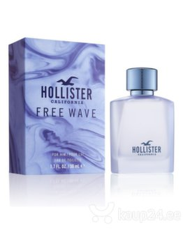 Tualettvesi meestele Hollister Free Wave EDT, 50 ml