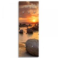 3D seinanagi Stones at sunset