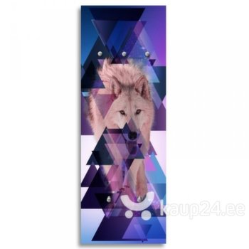 3D seinanagi Wolf and triangles