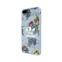 Adidas Floral Case Silicone Case for Apple iPhone X / XS Blue (EU Blister)