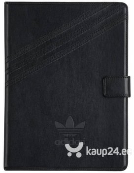 Adidas Folio Series Tablet Case, ümbris Apple iPad Air / Air 2 / iPad 9.7 (2017), Must