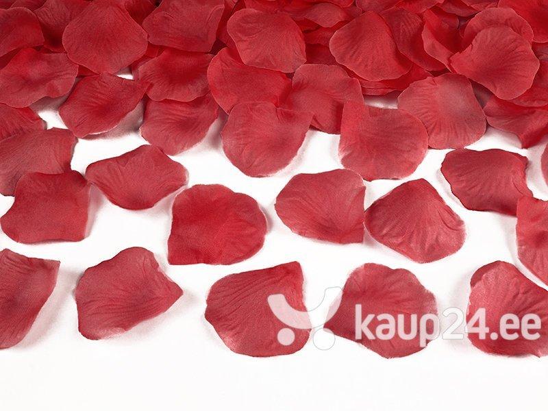 Декоративные лепестки роз, красные, 1 короб. / 100 упак. (1 упак. / 100 шт.)