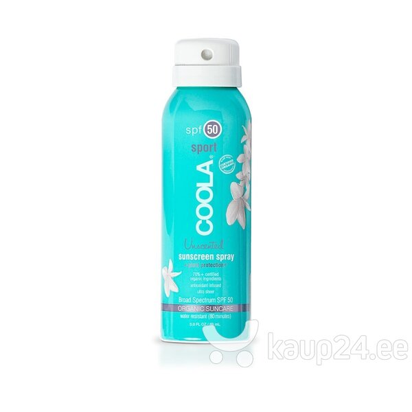 Päikesekaitsekreem Coola Sport Sunscreen SPF50 88 ml