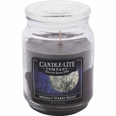 Lõhnaküünal kaanega Candle-Lite Moonlit Starry Night, 510 g