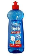 Crystale nõudepesumasina loputusvahend Total action, 500 ml