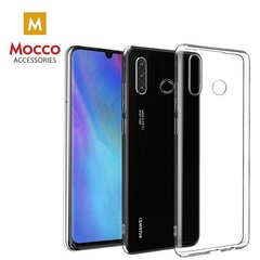 Mocco Ultra Back Case 0.3 mm Silicone Case for Huawei P30 Lite Transparent hind ja info | Mobiili ümbrised, kaaned | kaup24.ee
