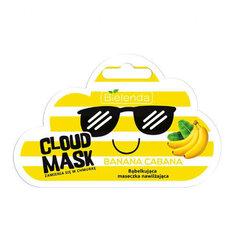 Toitev ning vahutav näomask Bielenda Cloud Mask Banana Cabana 6 g