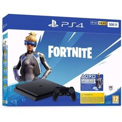 Sony PlayStation 4 (PS4) Slim, 500 GB + Fortnite Neo Versa
