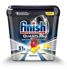 Nõudepesumasina tabletid FINISH Quantum Ultimate Lemon, 51 tk hind ja info | Nõudepesumasina tabletid FINISH Quantum Ultimate Lemon, 51 tk | kaup24.ee