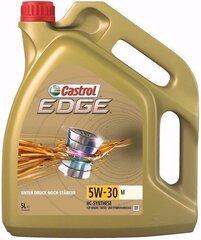 Mootoriõli Castrol Edge M 5W30, 5L hind ja info | Mootoriõlid | kaup24.ee