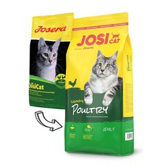 JosiCat maitsva linnulihaga Crunchy Poultry, 10 kg hind ja info | JosiCat maitsva linnulihaga Crunchy Poultry, 10 kg | kaup24.ee