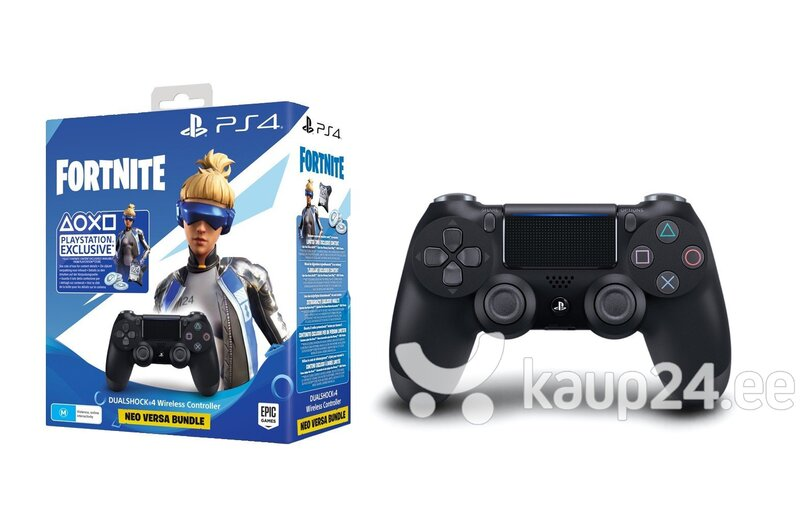 Sony PlayStation DualShock 4 V2 juhtmevaba pult + Fortnite Bundle hind